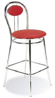 Бар стол TIZIANO hocker chrome