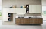 Мебели за кухня ПДЧ крем и орех