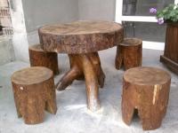 Градинска маса с 4 стола
