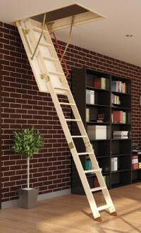 Сгъваема стълба за таван