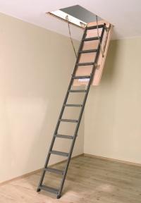 Таванска стълба от метал