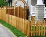 дървени огради по поръчка 3106-3190
