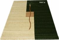 Машинен гладък килим в два цвята