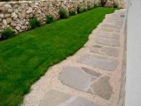 Каменни плочи за облицовка на дворове