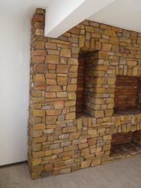 Декоративни стени от изкуствен камък