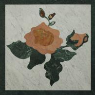 Квадратни мозайки за под от мрамор и гранит