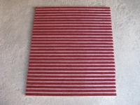 Червена алуминиева изтривалка