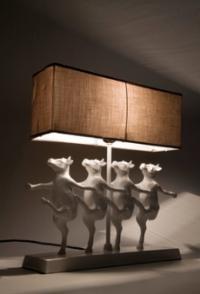 Лампа Танцуващи Крави