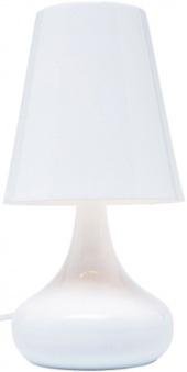 Настолна лампа Казино Бяла