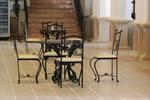 Железни качествени столове от ковано желязо