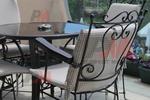 качествени столове от ковано желязо