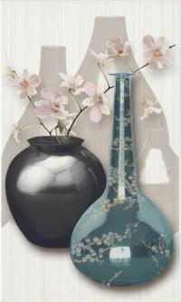 Луксозни испански плочки за баня с декор на вази