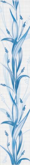 Lilia Blue Border 7х40см
