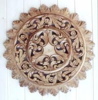Дърворезба на розетка