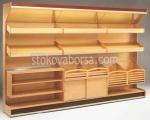 Стелаж за хлебни изделия от дърво