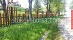 дървена ограда по поръчка