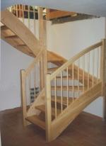 дървена стълба по поръчка