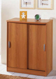 Шкаф за обувки 88/72/38см с плъзгащи врати