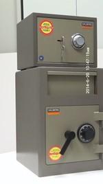 Метален сейф с шифър за денонощен магазин